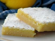 Tart Lemon Bars @ http://allrecipes.com.au