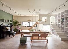 Une maison ludique à Taiwan