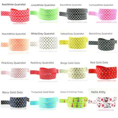 10++Yards+5/8+PRINT+Fold+Over+Elastic++by+BloomzberrySupplies,+$11.00