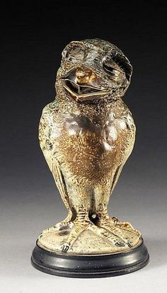A Small Wally bird By Robert Wallace Martin The Martin Brothers Pottery. Late 1800's London