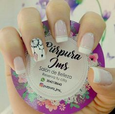 Nails French Largas Ideas in 2020 Nail Blog, Sparkle Nails, Cute Acrylic Nails, Nail Decorations, Perfect Nails, French Nails, Spring Nails, Manicure And Pedicure, Toe Nails