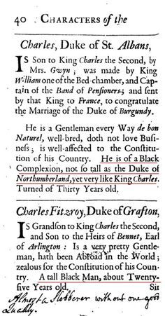 Charles, Duke of St.Is Son to King Charles the Second.He is of a Black Complexion, not so tall as the Duke of Northumberland, yet very like King Charles. History Books, World History, Instructional Planning, Black King And Queen, By Any Means Necessary, Africa Art, Black History Facts, The Secret History, Knights Templar