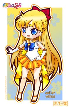 Sailor Moon Super S - Sailor Venus by Akage-no-Hime.deviantart.com on @deviantART
