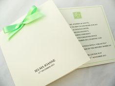 naming ceremony invitations