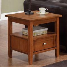 Simpli Home Warm Shaker End Table $149.99