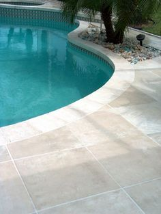 Concrete Designs Florida | Tile pool deck