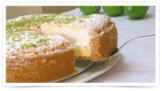 Torta de Limão com suspiro - Receitas Viena