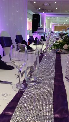 Accessories can be added to your top table , if you love bling, you will love this one