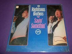 "Righteous Brothers - Sayin' Somethin' - Rare 12"" Vinyl LP Record - Verve 5010"