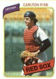 1980 Topps Carlton Fisk Baseball Card #40 - Shipped In Protective Display Case! by Topps. $4.88. Great looking Topps card of this Baseball Superstar