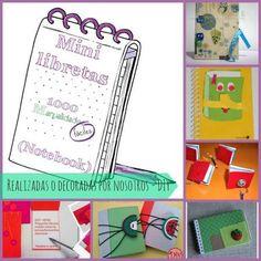 Mini libretas (notebook) Scrapbooking, Tags, Ideas, Paper Envelopes, Blue Prints, Manualidades, Scrapbooks, Thoughts, Memory Books