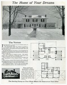 Elegant Colonial Revival - The Vernon - 1916 Sterling System Home by International Mill & Timber