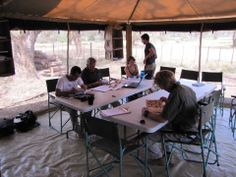Learning in the bush :)