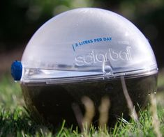 The Solarball is a brilliant solar water purifier that can produce three quarts of clean drinking water each day – simply fill it up and set it out in the sun! As the sun heats up the dirty water, it evaporates and passes through a membrane to produce clean and drinkable condensation. The design by Jon Liow was a finalist in the 2011 Dyson Awards.