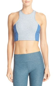 Outdoor Voices 'Athena' Colorblock Crop Top available at #Nordstrom