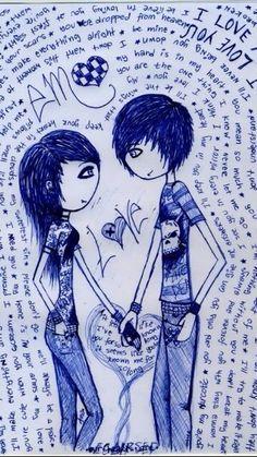 Emo Love is so cute
