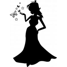 Sticker Princesse et paillons