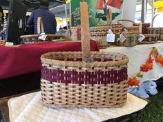 Heritage Basket. Currently for sale at Yarn.