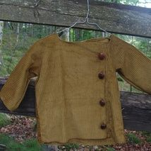 Ower size jacket,made of velvet.Ever so cumfy.Can be washed in a washer.For boys 3years og age