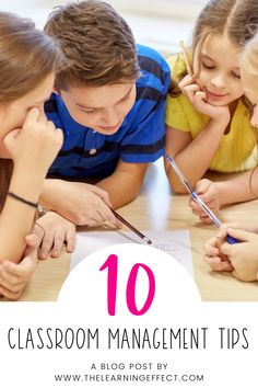 Some years you get an easy class - one that allows you to actually do your job effectively and reminds you of why you went into teaching. Other years, you may have a class that makes you wonder if you'll make it through the whole year without losing your mind. These 10 classroom management tips have helped save my sanity during those tough years! Written for elementary teachers, these ideas and strategies are perfect to use for substitutes as well. #thelearningeffect #classroommanagement