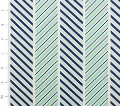 Which Way Stripe Sprout by Michael Miller by YouMadeSomething