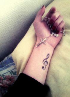 162 Best Music Symbol Tattoos Images Female Tattoos Girl Tattoos
