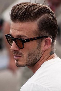 And of course the one undercut to rule them all, David Beckham. | 27 Men's Undercuts That Will Awaken You Sexually