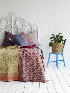 kantha quilt antique (love the pattern)  $190.00