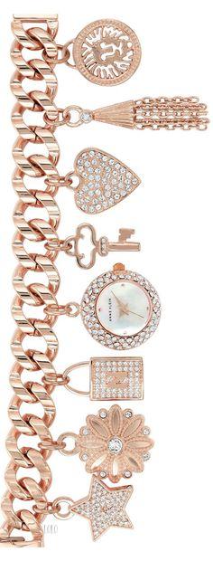 ANNE KLEIN charm bracelet
