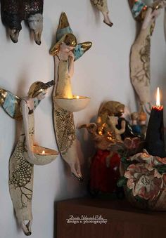 Candle Holders, Pottery, Clay, Candles, Sculpture, Manualidades, Ceramica, Clays, Pottery Marks