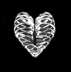 rib cage heart-Xray Technologists Valentine!