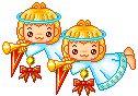 Gifs de Anjos de Natal Lindos  Gifs de Anjinhos de Natal  Imagens de Anjos de Natal  Imagensde Anjinhos de NatalAnjos de Natal  Anjinhos de ...