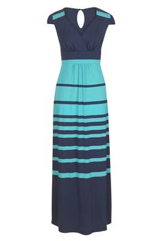 Stripe Maxi Dress from Long Tall Sally #tallfahion #longlength #tallwomen