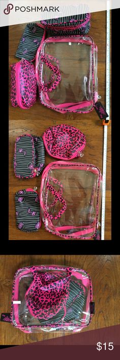 4pcs set of cosmetic travel bags 4 in one cosmetic bag set. Bags Travel Bags