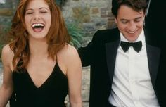 Such a great pic from one of my fav Rom-Coms. Debra Messing and Dermot Mulroney - 'The Wedding Date' (2005) Filmed in the UK with a superb soundtrack and I LOVE Debra's hair and outfits. Great chemistry between them as well and just an all around fun and sexy romantic comedy.