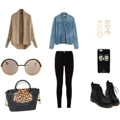 Untitled #5 by konaki on Polyvore featuring Madewell, 7 For All Mankind, Emma Fox, Forever 21, Marc by Marc Jacobs and Kate Spade