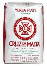 CRUZ DE MALTA Yerba Mate   This is the BEST tasting Yerba Mate Tea I've ever had. Tastes so good that I don't even use soy creamer in it! Clear and smooth on the tongue and keeps me going all morning! Great for afternoon tea time too! Doesn't keep me awake all night like coffee!!!