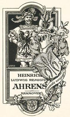 Heraldik, Wappen, Exlibris