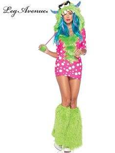 Women's Melody Monster Sexy Costume