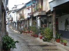 Calle en Guadalupe, España