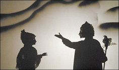 The Tempest shadow puppetry