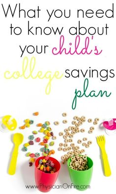 What you need to know about your child's college savings plan. College savings plan tips. College Fund, Saving For College, Money Tips, Money Saving Tips, 529 Plan, College Savings Plans, Household Budget, Savings Planner, Student Loan Debt