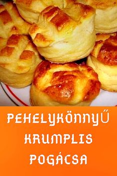 Serbian Recipes, Hungarian Recipes, Hungarian Cuisine, Savory Pastry, Salty Snacks, Cooking Recipes, Healthy Recipes, Soul Food, Tapas