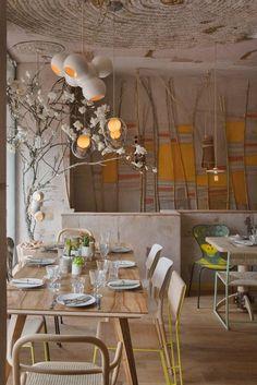 Restaurante Mama Campo, Madrid, 2014 - QATAY arquitectura ecosocial