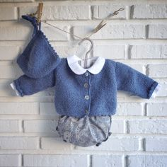 Baby Girl Cardigans, Knit Baby Sweaters, Knitted Baby Clothes, Fashion Kids, Little Girl Fashion, Baby Knitting Patterns, Baby Kind, Stylish Kids, Classic Outfits