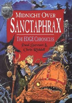 Midnight Over Sanctaphrax (Edge Chronicles, Chris Riddell, Paul Stewart, Book Worms, Books To Read, The Originals, Reading, Authors, Writing, Reading Books
