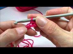 """Basis: Halve vaste haken, via het kanaal """"Handwerkles"""" @ Youtube ✤ Het Haak Orakel ✤ www.pinterest.com... ✤ #crochet #free #pattern"""