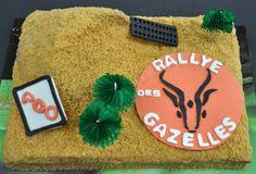 """Gâteau """"désert"""" pour le Rallye des Gazelles"""