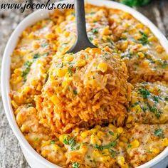 Chicken Enchilada Rice Casserole Recipe - ZipList
