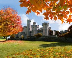 I went to school at Hogwarts, well, Bodelwyddan Castle in Wales, actually  http://www.almaalexander.org/enemy/